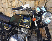 Cannes location moto 125