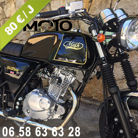 Cannes Location Moto 125cc