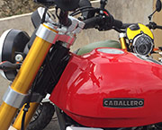 Fantic caballero 125 scrambler location