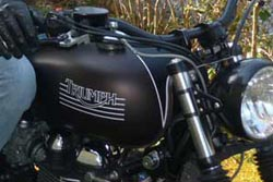Triumph Bonneville T 100 Location