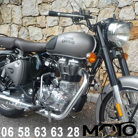 Location moto Cannes ROYAL ENFIELD