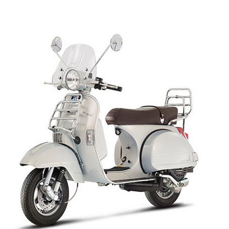 scooter vespa px 125 rental on the riviera cannes. Black Bedroom Furniture Sets. Home Design Ideas