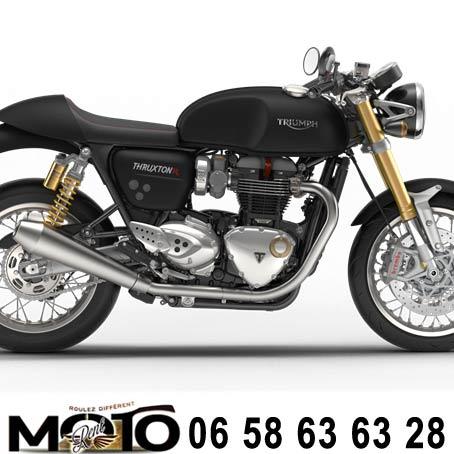 essai moto triumph thruxton cannes location thruxton r1200 triumph. Black Bedroom Furniture Sets. Home Design Ideas